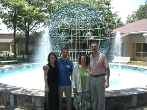 Miriam, Chad, Angie, Kevin at ILC