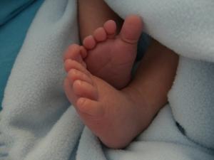 Baby Hayden's cute little feet