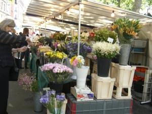 flowers on Sunday Market