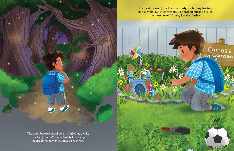 KindergartenHatScaryForest